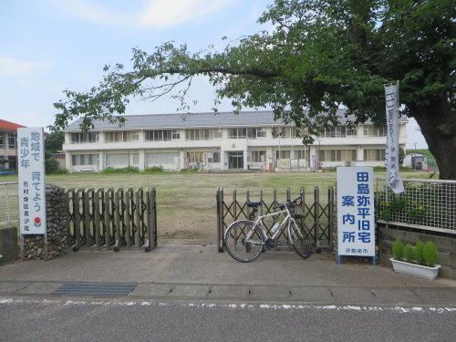 田島弥平旧宅案内所で世界遺産カードを