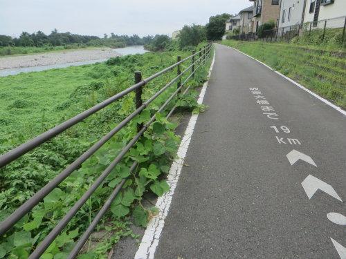 玉村町北部公園までサイクリング