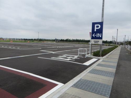 パワーモール前橋みなみに新しい駐車場