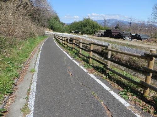道の駅こもちまでサイクリング