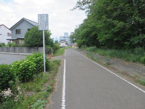 利根川サイクリングロードの通行止めも