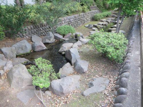 高崎の城址親水公園