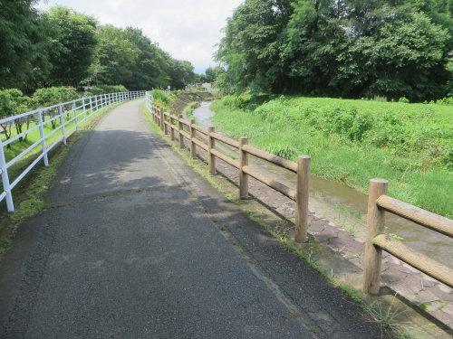 浜川運動公園の人道橋は渡れず
