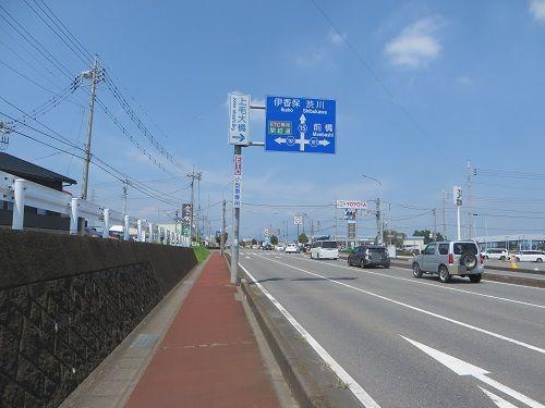 吉岡町の南下E号古墳までサイクリング