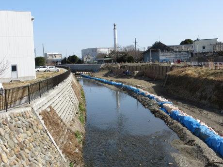 温井川の新町戸崎遺跡