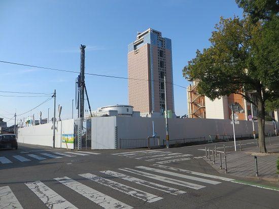 新議会棟の建設工事